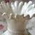 Rosebud Ribboned Vase 1981 Vintage Belleek Porcelain