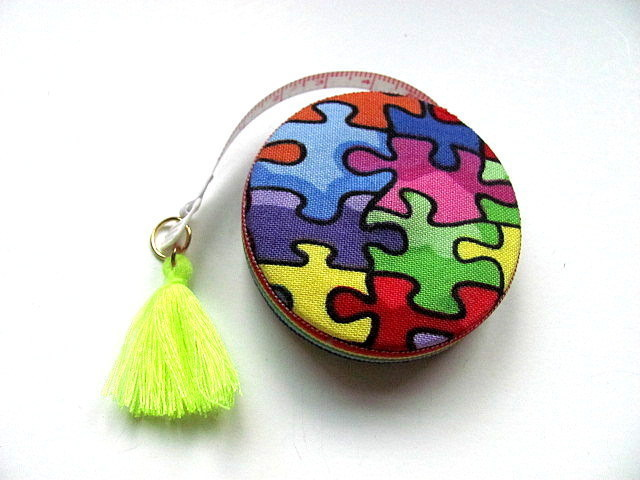 Tape Measure Autism Awareness Retractable Tape Measure
