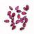 Rhodolite Garnet Semi Precious Faceted 5 x 3 mm Pear flawless Loose Gemstone