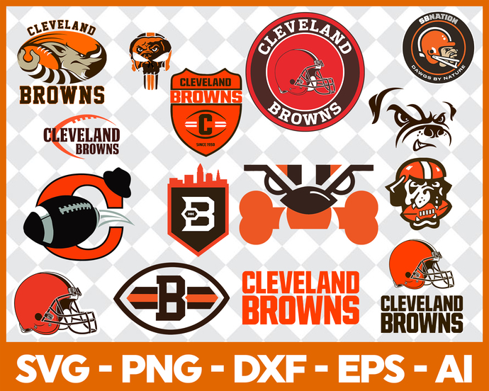 Cleveland Browns SVG, Nfl Svg, Football Logo Svg, Vector Cut Files, Svg  Files for CriCut, Silhouette Cameo