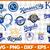 Kansas City Royals SVG files, baseball designs contains dxf, eps, svg, jpg, png