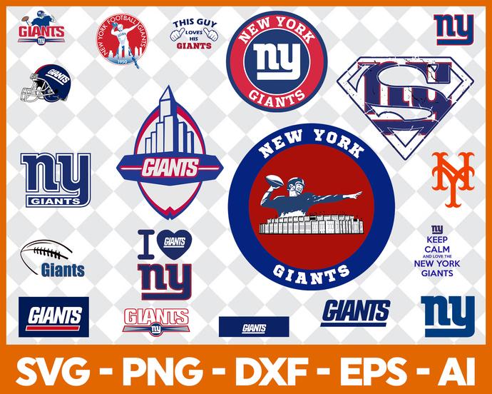 New York Giants Logo Giants Silhouette Sports Silhouette Baseball Silhouette Ny Giants Svg Giants Logo Giants Cut File Giants Cricut