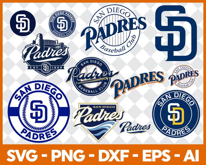 San Diego Padres SVG Files, San Diego Padres Cutting Files, San Diego  Padres DXF Svg Cut Files, San Diego Padres SVG Files, Instant Download