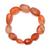 Natural Strawberry Quartz Semi Precious Gemstone Stretchable Handmade Unisex