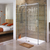 Bamboo Grove - Coastal Design Series - Etched Decal - For Shower Doors, Glass