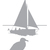 Sea Gull and Sailboat Sunset - Coastal Design Series - Etched Decal - For