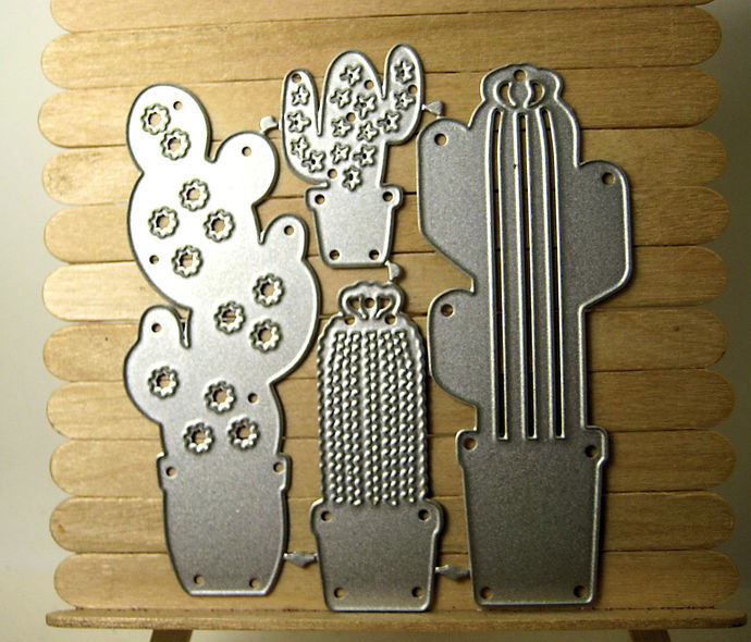 4 Piece Cactus Cutting Die Set