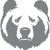 Grizzly Mount - The Great Outdoors Series - Etched Decal - For Shower Doors,
