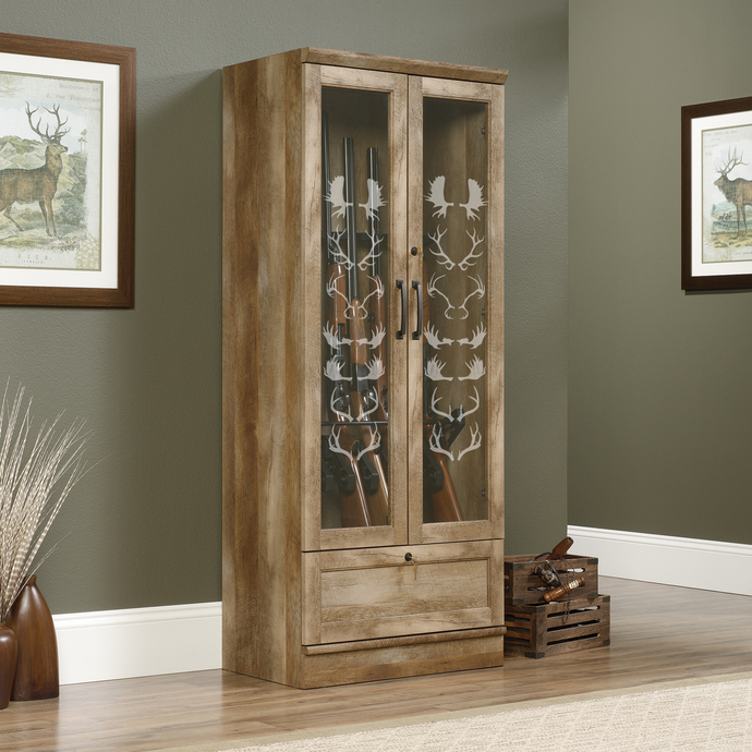Antler Awards - The Great Outdoors Series - Etched Decal - For Shower Doors,