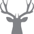 Deer Mount - The Great Outdoors Series - Etched Decal - For Shower Doors, Glass