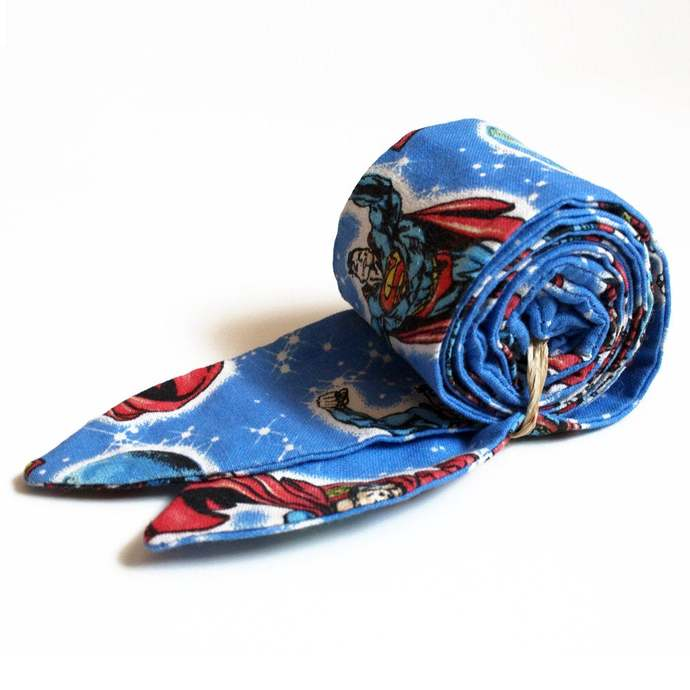 Cool Tie, Super Hero Print