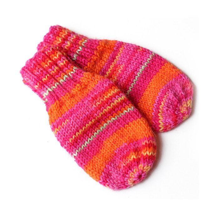 Baby Mittens With or Without String