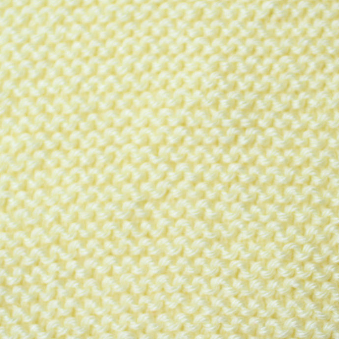 Knit Scarf Child, Yellow