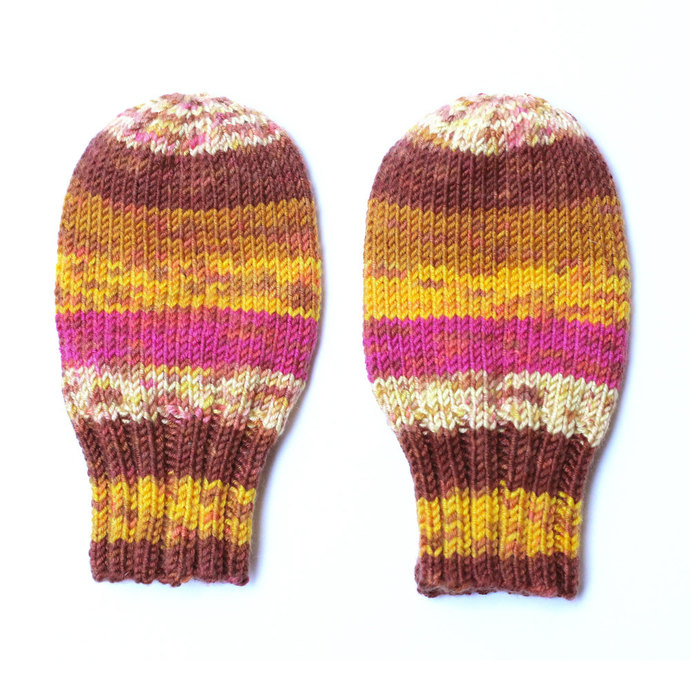Baby Mittens Hand Knit