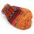 Mittens No String Newborn, Orange
