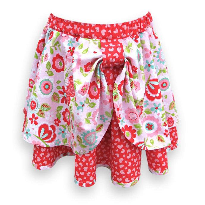 Circle Skirt Elastic Waist,Child's Size 4T