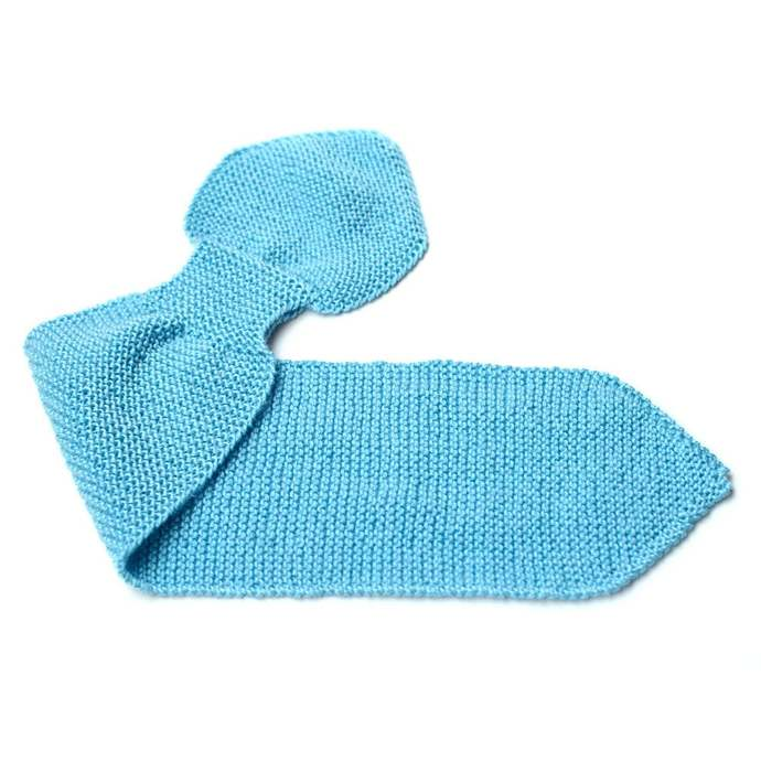 Knit Scarf, Toddler 2 to 4 Years, Blue