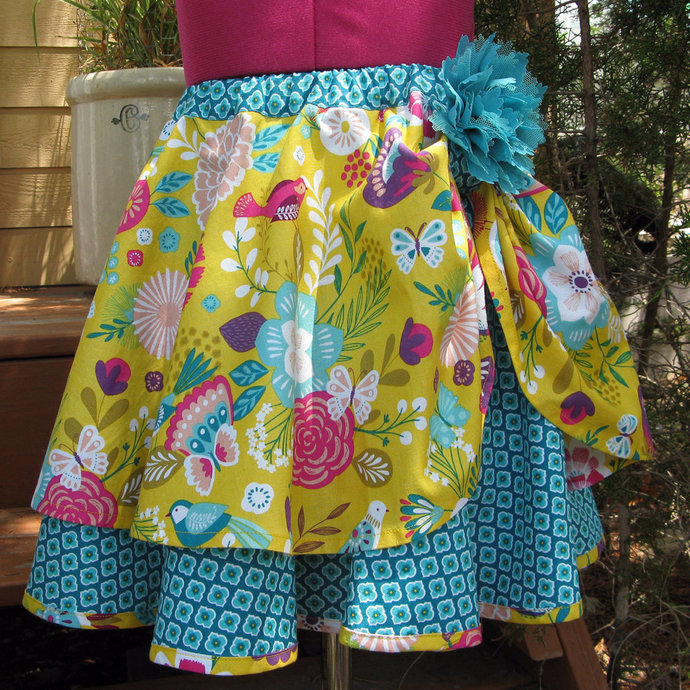Circle Skirt, Girl's Size 5