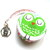 Tape Measure Pink and Lime Owls Retractable Measuring Tape