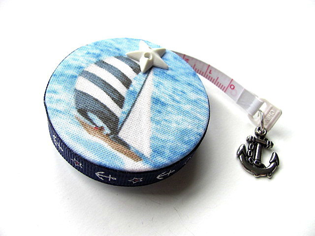 Measuring Tape Sail Boats Pocket Retractable Tape Measure