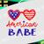 America babe svg, 4th of July svg, Freedom svg, Patriotic svg, SVG Dxf EPS Png