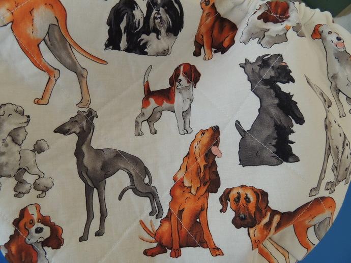 Dog Daze Quilted Cotton Pet Sling