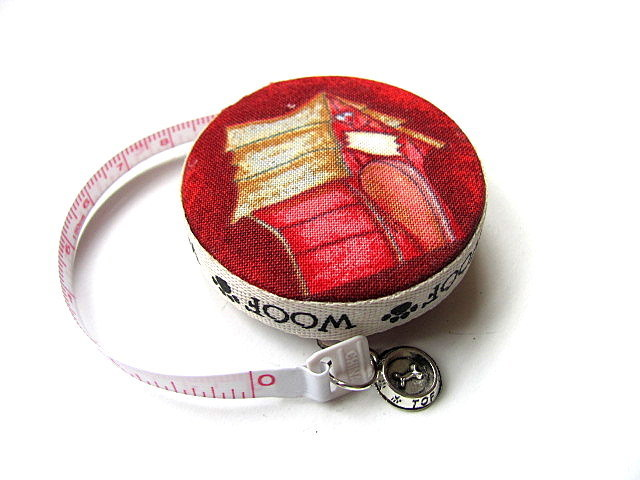 Measuring Tape I Love Dogs Retractable Tape Measure