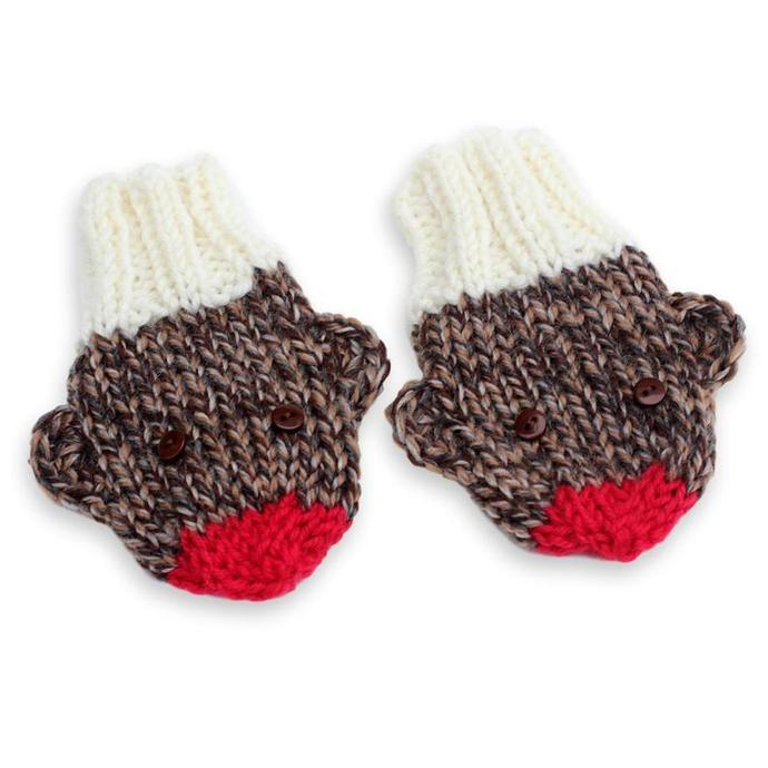 Mittens on String, No Thumb, 6 to 12 Months