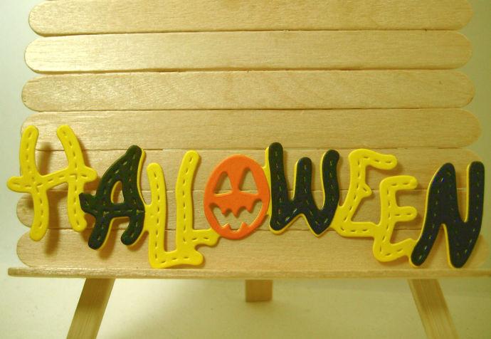 Halloween Metal Cutting Die with Pumpkin