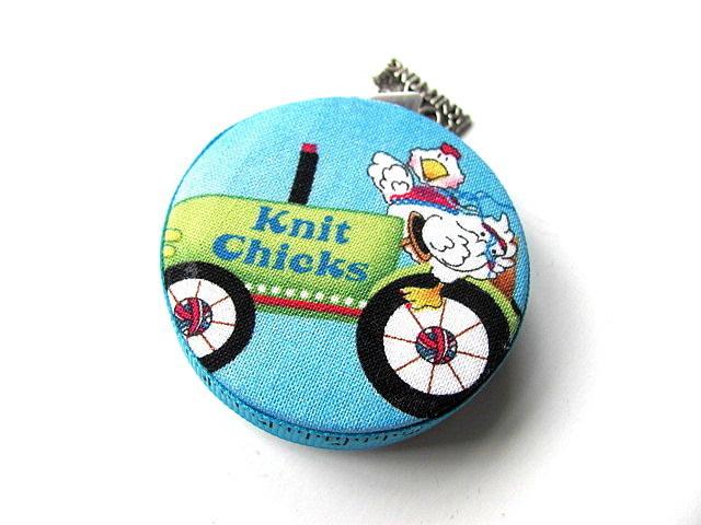 Tape Measure Knit Chicks Retractable Pocket Measuring Tape