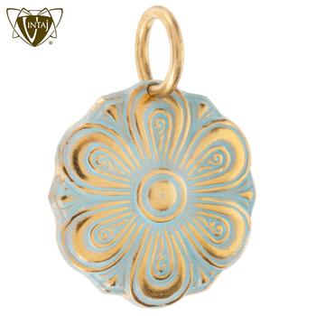 Vintaj Solid Brass Unfolding Flower