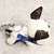 Upcycled LV dog keychain - Repurposed Louis Vuitton - Louis Vuitton keychain -