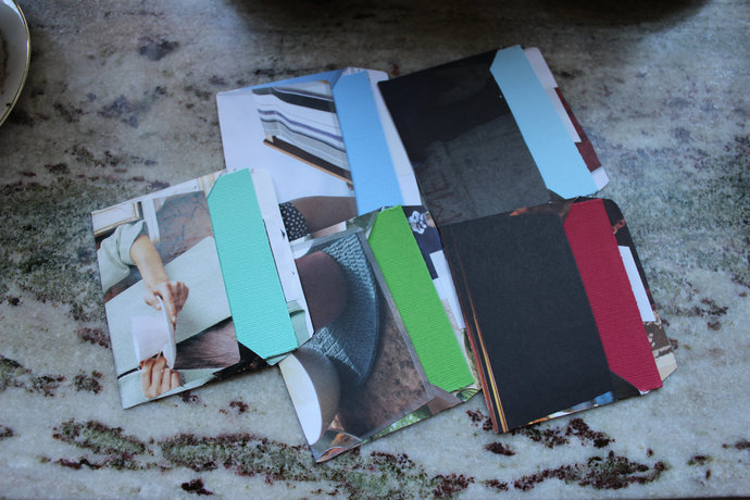 Note cards with handmade envelopes - People & Atmosphere - Pack of 5