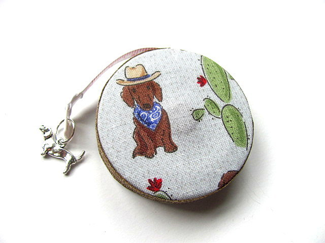 Measuring Tape Dachshunds Out West Retractable Tape Measure