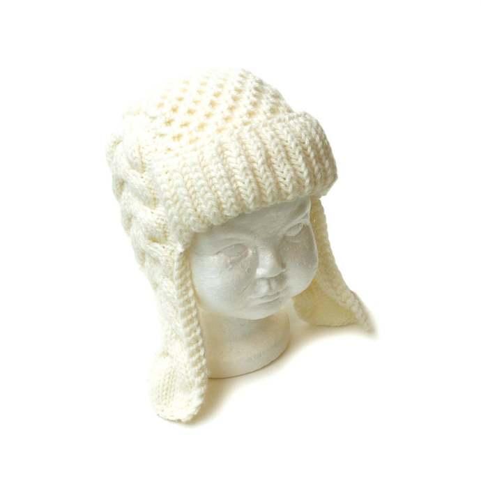 Kid's Ear Flap Trapper Hat