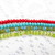 Your choice 3/5 mm fire polish Czech glass DONUT beads, sold by 50 bead strand