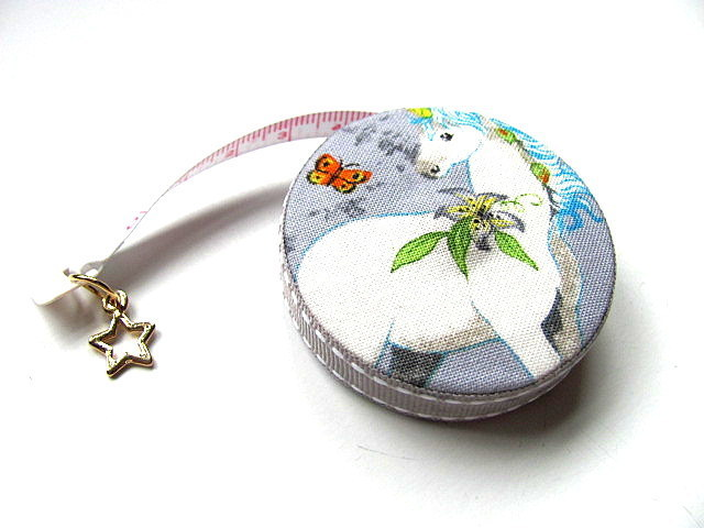 Tape Measure Flowers and Unicorns Retractable Measuring Tape