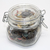 Vintage Buttons Lot in Italy Square Bail Wire Jar