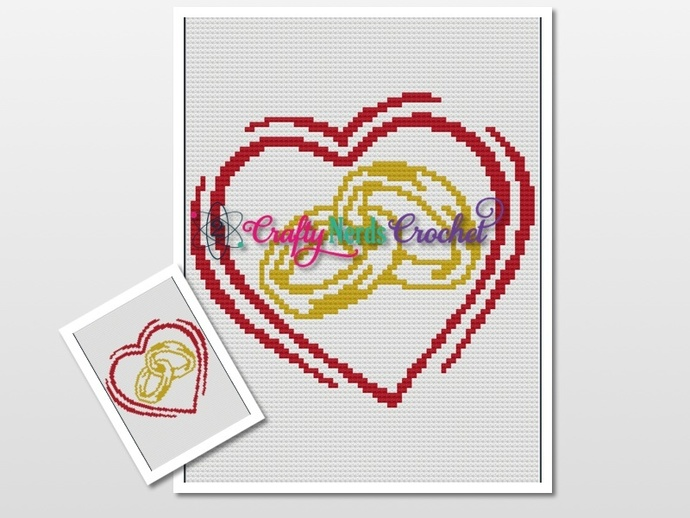 Linked Rings in Heart Pattern Graph With C2C Written