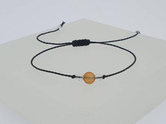 Carnelian Quartz Bracelet | detoxing from alcohol - restores vitality -
