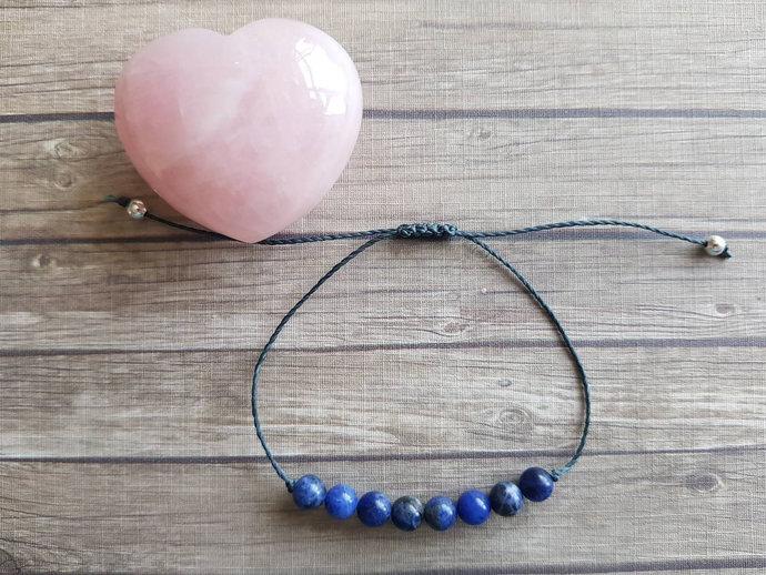 Sodalite bracelet   healthy blood pressure ~ understanding of emotional issues ~