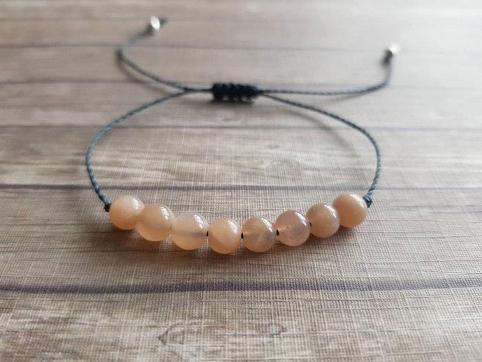 Sunstone bracelet | Sacral Chakra ~ strength ~ abundance of blessings ~