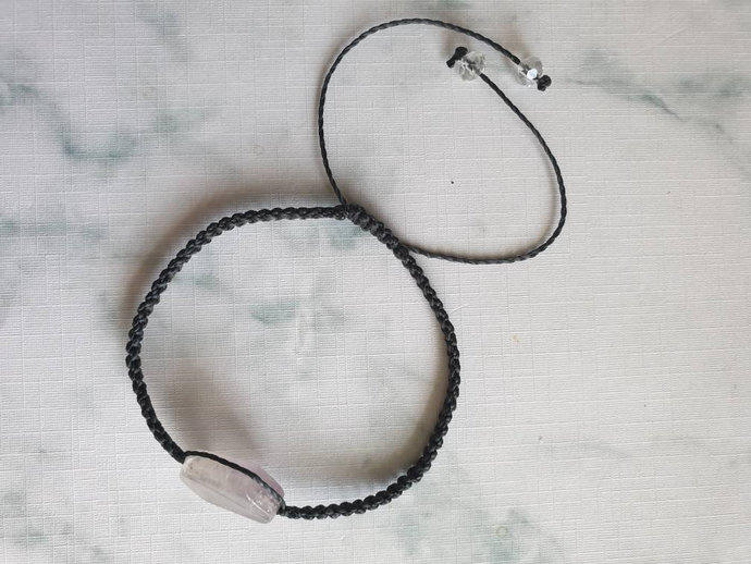 Amethyst bracelet | serenity ~ release of addictions ~ clear negative emotional