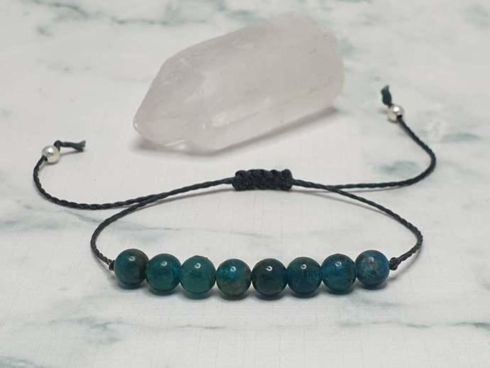 Apatite bracelet | aiding communication + self~expression ~ increases motivation