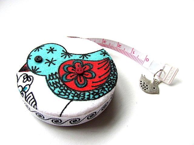 Tape Measure Print Birds Retractable Measuring Tape