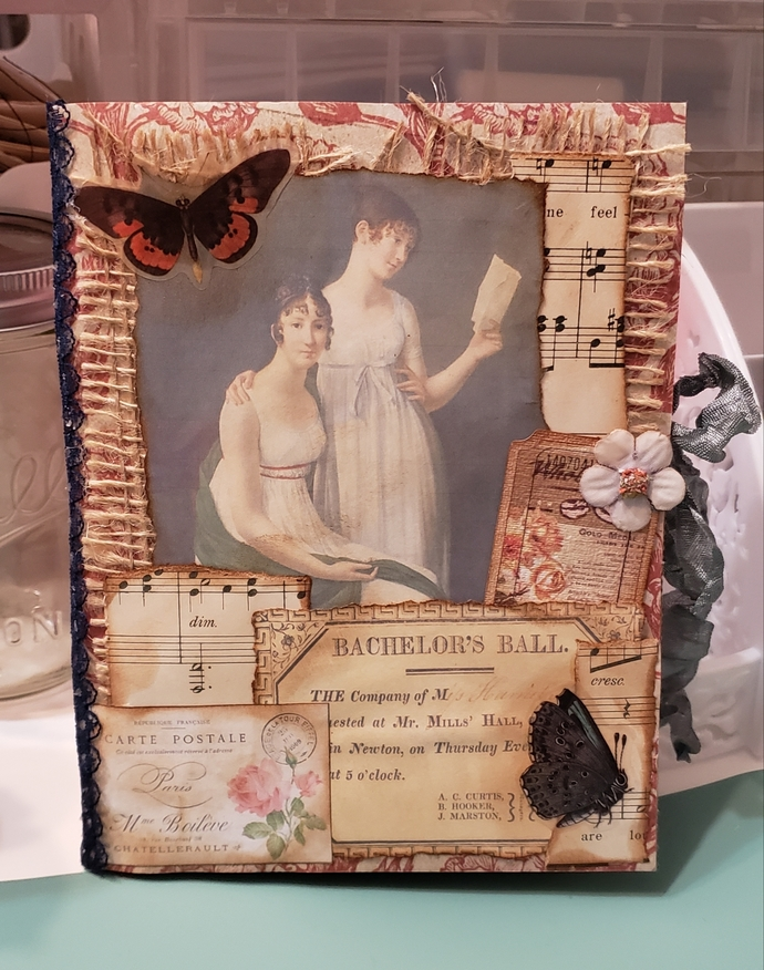 Jane Austen themed junk journal