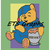 Nap Time Pooh Bear SC  150x180 Graph with Written Color Chart