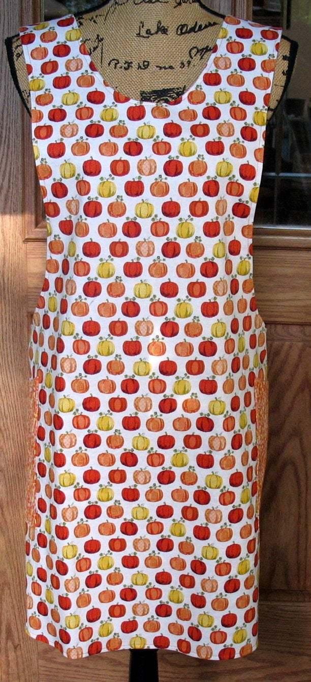 Cross Back apron-Small/Medium fully reversible