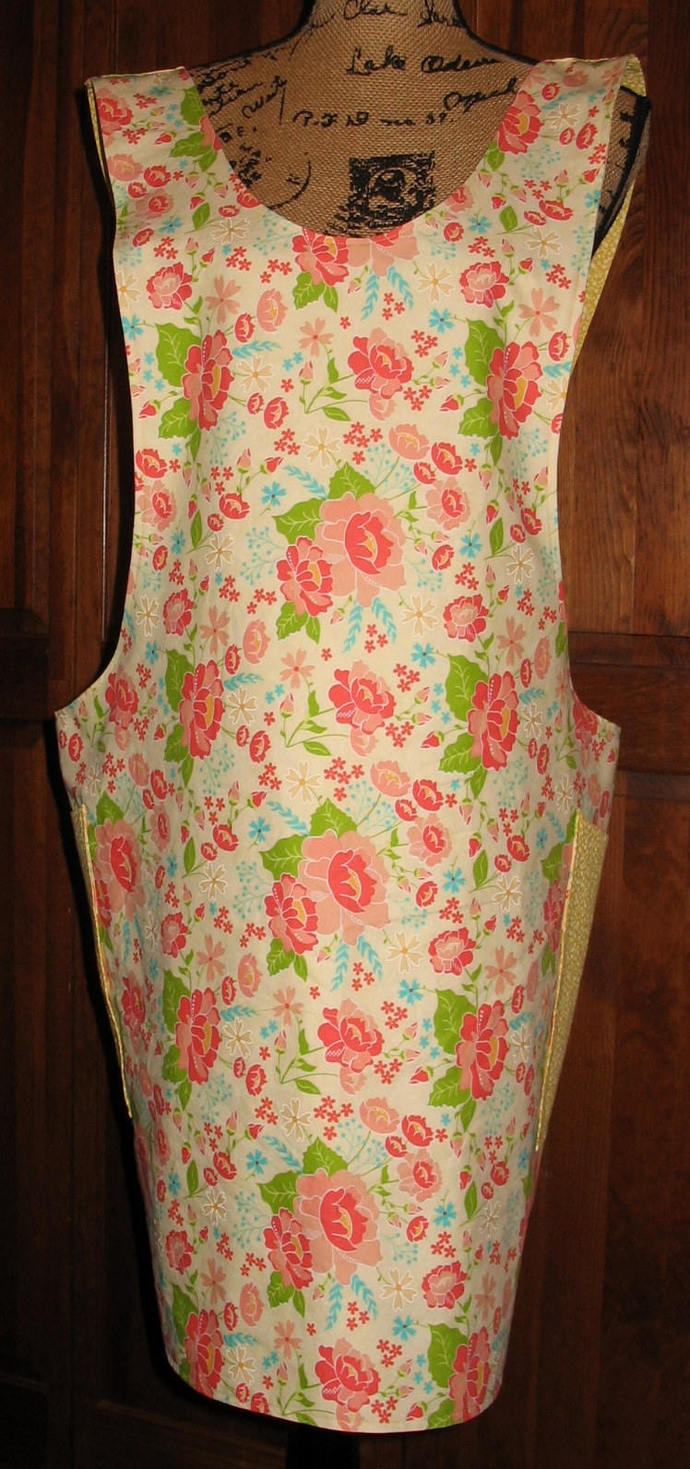 Cross Back apron - Choice of size - fully lined