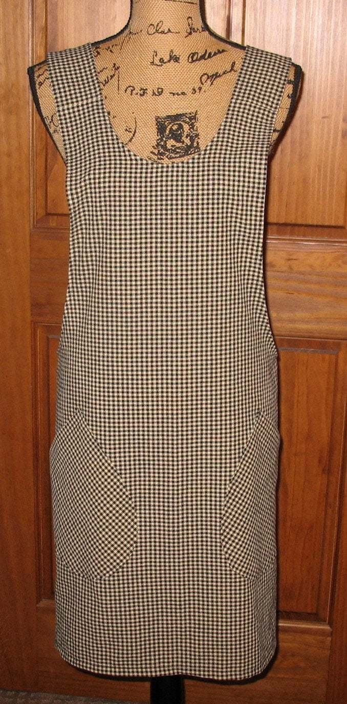 Cross Back apron- Sm/Med fully lined